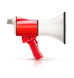 Speaking-trumpet megaphone vector