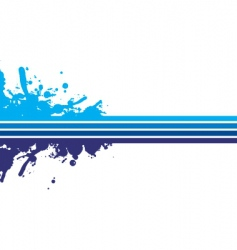 Blue strips vector
