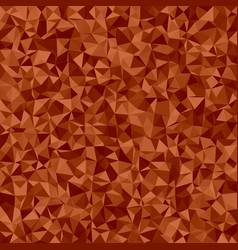 Abstract irregular triangle mosaic background - vector