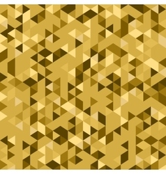 gold geometric background vector image vector image
