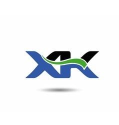 XK logo vector image