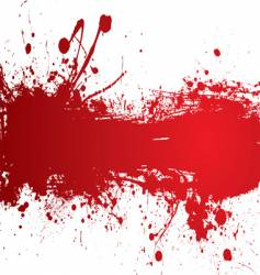 blood strip vector image