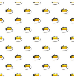 Car air compressor pattern vector