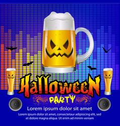 Halloween party concept vector