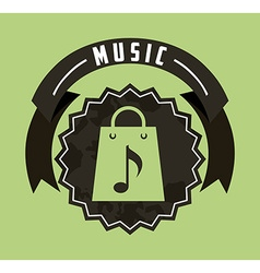 music lifestyle vector image vector image