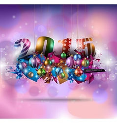 Christmas Greeting Card for happy Holidays cards vector image vector image