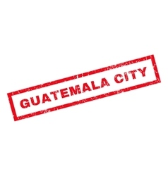 Guatemala city rubber stamp vector
