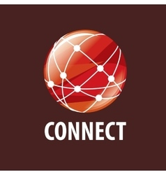 Logo connect vector