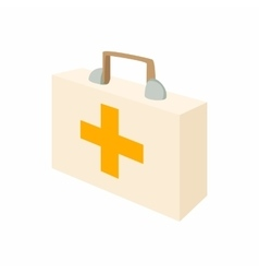Medicine chest icon cartoon style vector image vector image