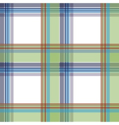 seamless plaid vector image