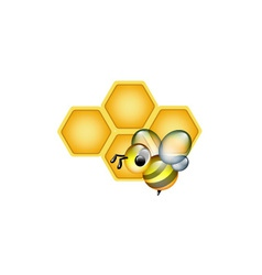 Apiculture logo vector