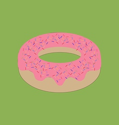 Donut bagel icon vector