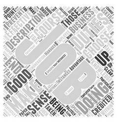 Jh job description word cloud concept vector