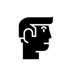 male avatar profile icon vector image