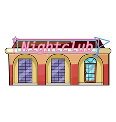 A nightclub vector