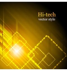 Shiny hi-tech background vector