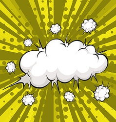 Cloud explosion vector