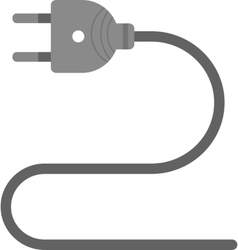 Electric wire vector