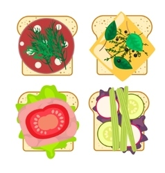 Sandwich set isolated vector
