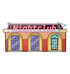 A nightclub vector