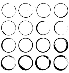 Circle Elements set 02 vector image