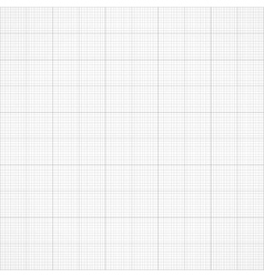 Graph seamless millimeter grid paper vector image vector image