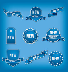 tags and labels vector image vector image