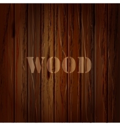 Wood texture background with text vector