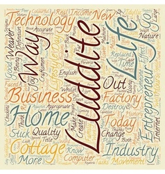 Back to home business text background wordcloud vector