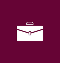 case icon simple vector image