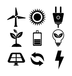 Clean energy design vector