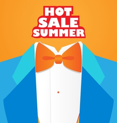 fashion hot summer vector image