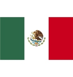 Mexico flag image vector