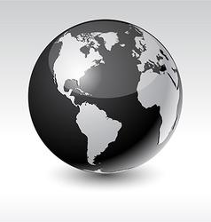 Earth - america vector