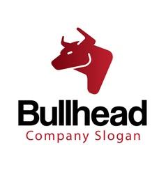 Bull head Design vector image