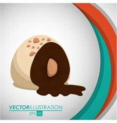 Chocolate icon design vector