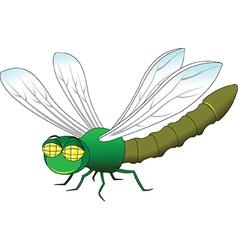 Dragonfly cartoon vector