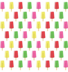 Ice lolly pattern vector