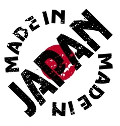 Made in japan vector