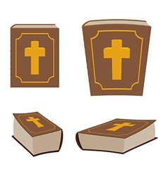 Bible is Holy Book set Different version of Holy vector image
