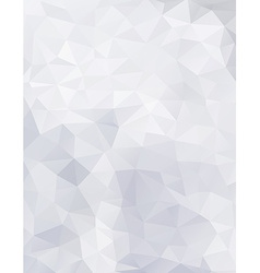 Geometric paper background vector image vector image