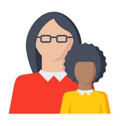 Pedagogy icon vector