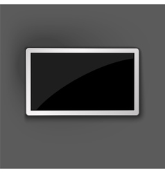 Smart TV Mockup vector image