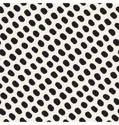 Seamless Black And White Jumble Circles vector image