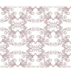 Vintage floral ornament pattern vector