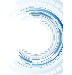 Technology Circles Background vector image