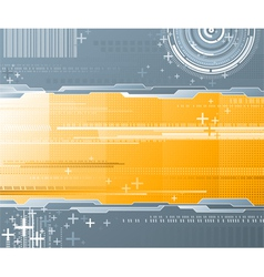 Abstract background - futuristic high tech design vector image vector image