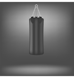 Black Boxing Bags vector image