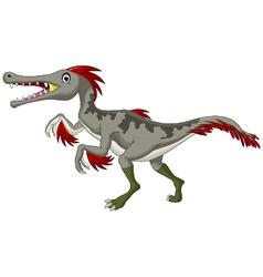 Dinosaur Triceratops cartoon vector image vector image