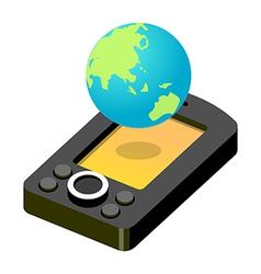 icon internet vector image vector image